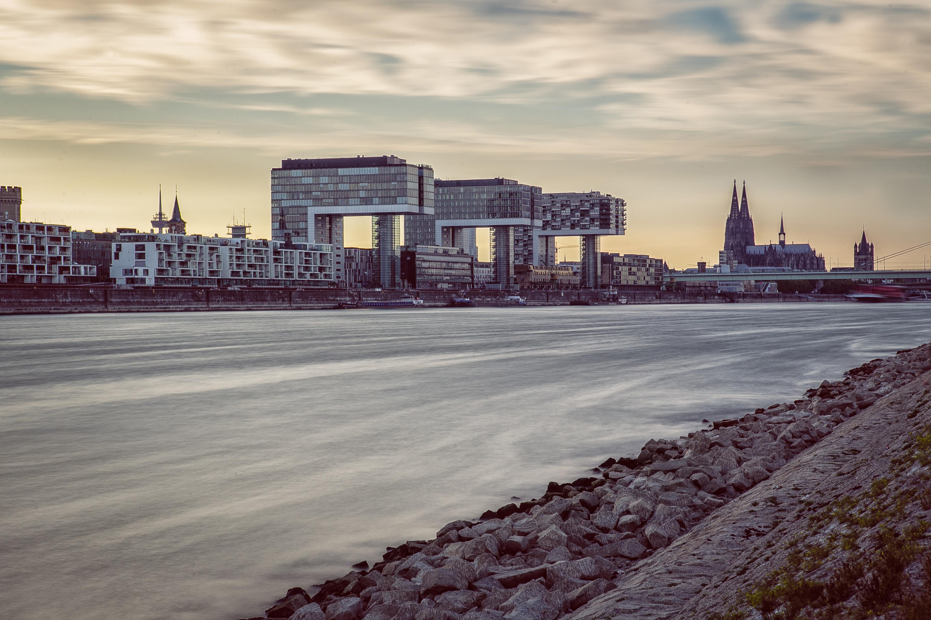 Cologne skyline isabel grosser photography - Koln skyline leinwand ...